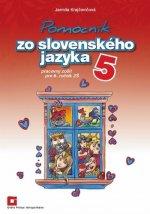 Pomocník zo slovenského jazyka 5 pe 5. ročník základných škôl