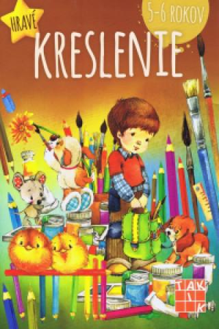 Hravé kreslenie pre deti 5-6 rokov PZ