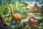 Puzzle Dinosauři na cestách
