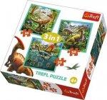 Puzzle Neobyčejný svět dinosaurů