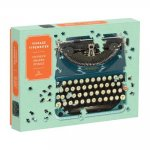Just My Type: Vintage Typewriter 750 Piece Shaped Puzzle