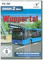 OMSI 2 - AddOn Wuppertal, 1 DVD-ROM