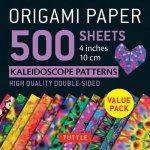 Origami Paper 500 sheets Kaleidoscope Patterns 4 (10 cm)