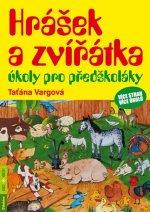 Hrášek a zvířátka úkoly pro předškoláky