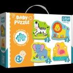 Baby puzzle Zvířata na safari 4v1