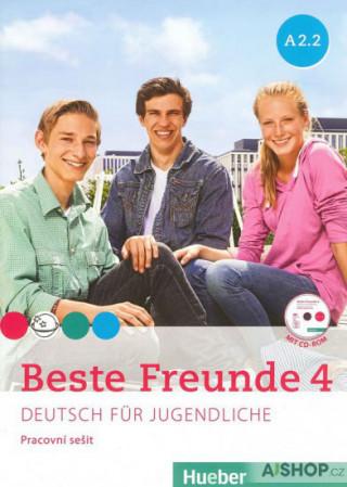 Beste Freunde 4 A2/2 - pracovní sešit+CD (česká verze)