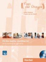 Fit fürs Goethe-Zertifikat B2 - Deutschprüfung für Jugendliche, Lehrbuch mit Audio-CD