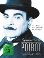 Poirot - Collector's Box. Alle Fälle. Alle Episoden. Auf 45 Discs.