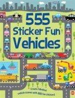 555 Sticker Fun Vehicles