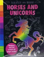 Scratch and Draw Unicorns & Horses Too!