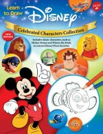 Learn to Draw Disney Celebrated Characters Collection: New Edition! Includes Classic Characters, Such as Mickey Mouse and Winnie the Pooh, to Current
