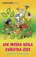 Jak myška učila zvířátka číst - První čtení s úkoly