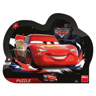 Puzzle Auta Blesk McQueen 25 dďż˝lkďż˝