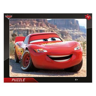 Puzzle Auta Blesk McQueen 40 dďż˝lkďż˝