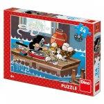 Puzzle Krtek a orel 24 dílků
