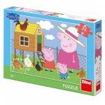Puzzle Peppa Pig Slepičky 24 dílků
