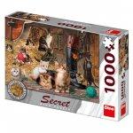 Puzzle Secret Collection Kočky 1000 dílků