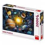 Puzzle Sluneční soustava 2000 dílků