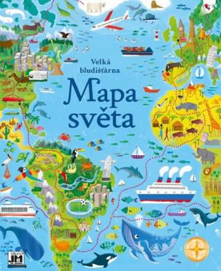 Velká bludišťárna Mapa světa