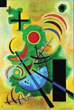 Kandinsky Wassily: Žlutá červená modrá - Puzzle/1000 dílků