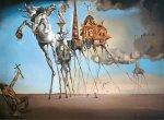 Salvador Dalí: Pokušení svatého Antoníčka - Puzzle/1000 dílků