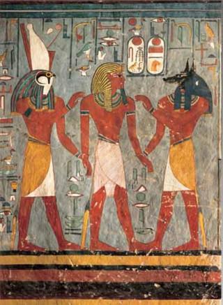 Egyptian Art: Ramses I. s bohy podsvětí - Puzzle/1000 dílků