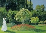 Monet: Žena v zahradě - Puzzle/1500 dílků