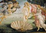 Sandro Botticelli: Zrození Venuše - Puzzle/1500 dílků