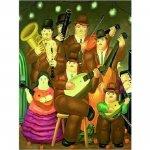 Botero: Hudebníci - Puzzle/1500 dílků