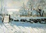 Monet: Straka v zimě - Puzzle/2000 dílků