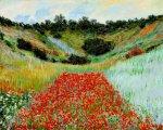 Monet: Makové pole - Puzzle/2000 dílků