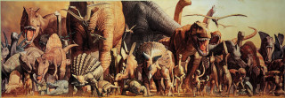 Haruo Takino: Dinosauři - Puzzle/2000 dílků