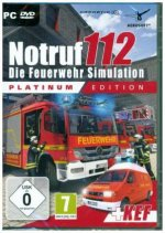 Notruf 112, Die Feuerwehr Simulation, 1 DVD-ROM (Platinum Edition)