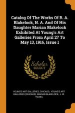Catalog of the Works of R. A. Blakelock, N. A. and of His Daughter Marian Blakelock Exhibited at Young's Art Galleries from April 27 to May 13, 1916,
