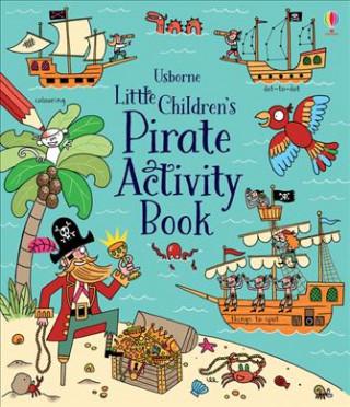 Little Children's Pirate Activity Book