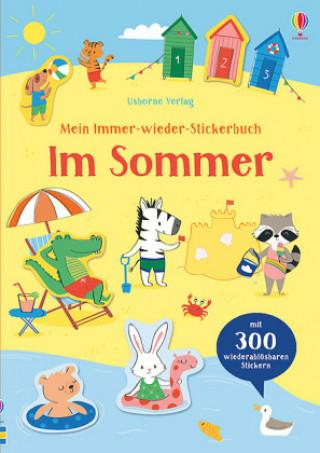Mein Immer-wieder-Stickerbuch - Im Sommer