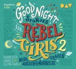 Good Night Stories for Rebel Girls - Mehr außergewöhnliche Frauen, 3 Audio-CDs