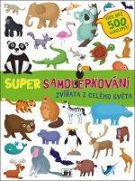 Super samolepkování Zvířata z celého světa