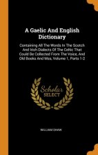 Gaelic And English Dictionary