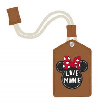 Kožená klíčenka Minnie