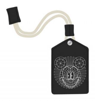 Kožená klíčenka Mickey