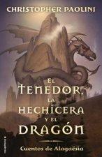 El Tenedor, la Hechicera y el Dragon: Cuentos de Alagaesia Vol. 1 = The Fork, the Witch, and the Worm