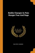Bodily Changes in Pain Hunger Fear and Rage