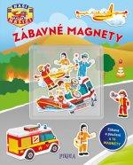Zábavné magnety Naši hasiči