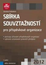 Sbírka souvztažností pro příspěvkové organizace