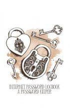 Internet Password Logbook: (A Password Keeper Vintage 5x8)