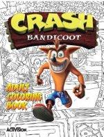 Crash Bandicoot Adult Coloring Book