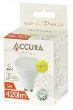 Żarówka LED ACCURA Premium, GU10, 5W
