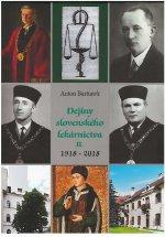 Dejiny slovenského lekárnictva II. (1918-2018)