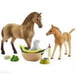 Horse Club Zestaw pielęgnujący Quarter Horse + źrebię